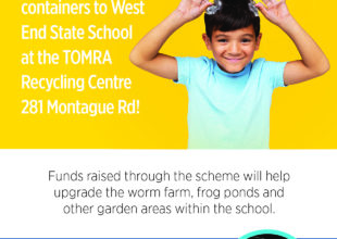 Thumbnail for the post titled: TOMRA and WESS P&C are local partners May – August!