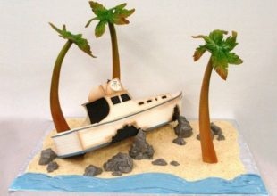 Thumbnail for the post titled: Ship Wrecked! The theme for the baking competition this year.